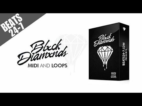 Trap Piano Melody Loops + MIDI Kit - Blxck Diamxnds