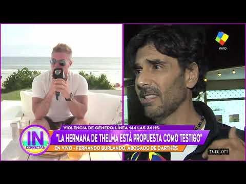 Fernando Burlando adelantó que Juan Darthés volverá a la Argentina