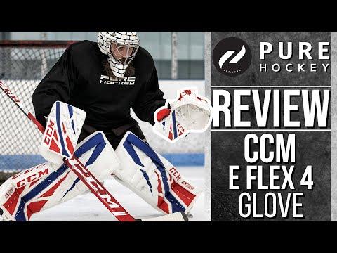 CCM Extreme Flex 4 Pro Goalie Catch Glove | Product Review