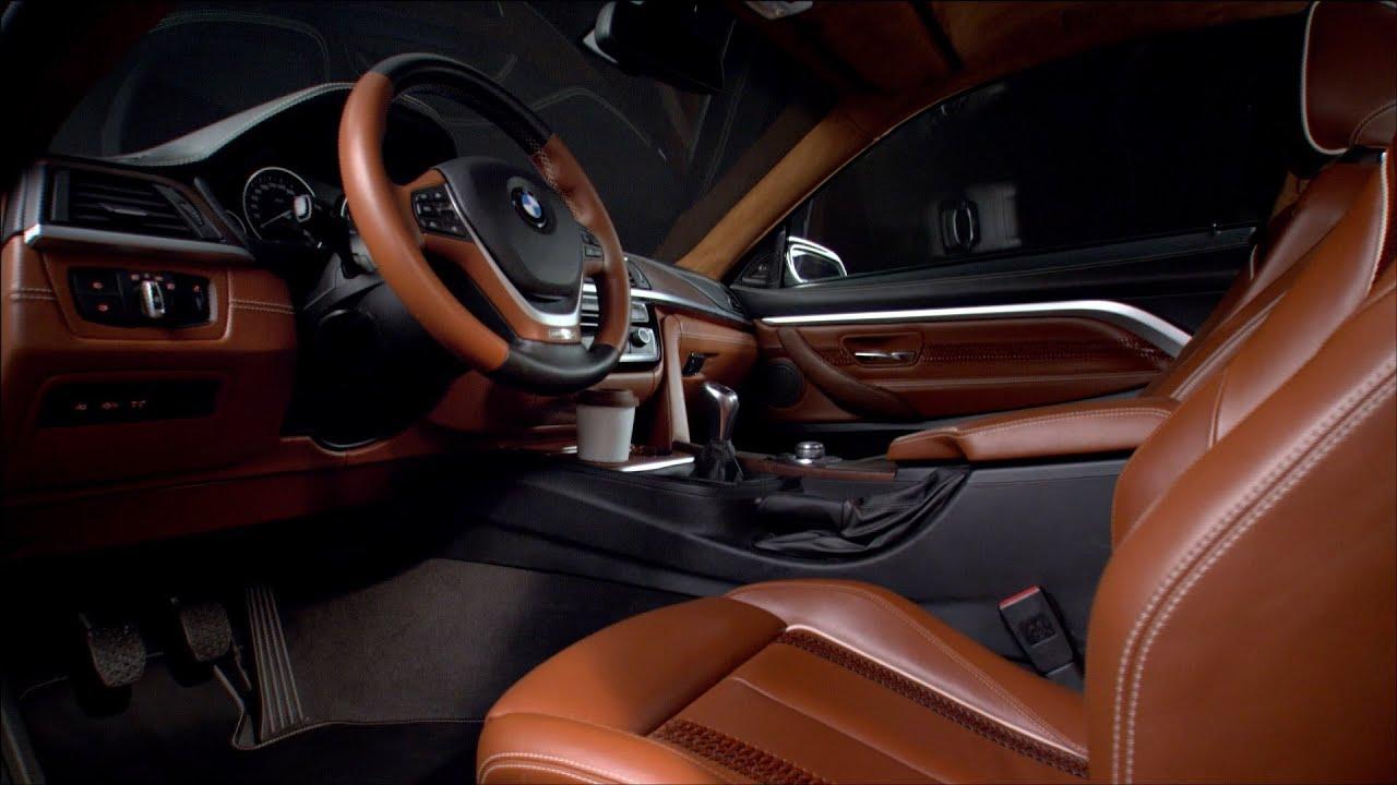 BMW 4 Series Coupé concept - INTERIOR - YouTube