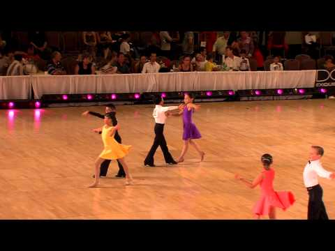 2012 Desert Classic Pre -Teen II Latin Final HD - Ballroom Dance Video Kids, Children