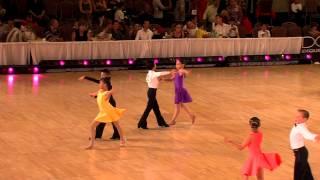 2012 Desert Classic Pre -Teen II Latin Final HD - Ballroom Dance Video Kids, Children