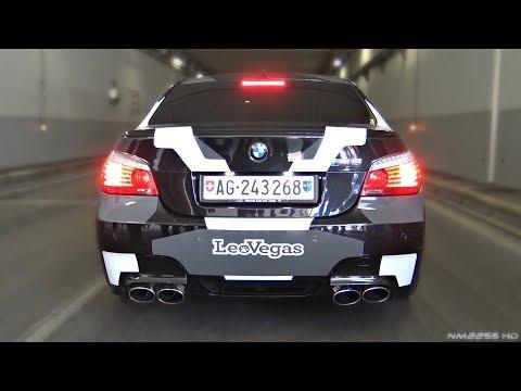Orgasmic Sound of BMW S85 5.0 N/A V10 - BMW M5 E60 Engine Sound!