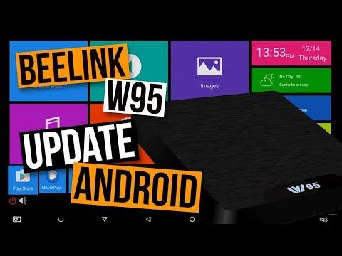 BEELINK W95 Firmware Update: Status Bar Android OTA System Update Tutorial