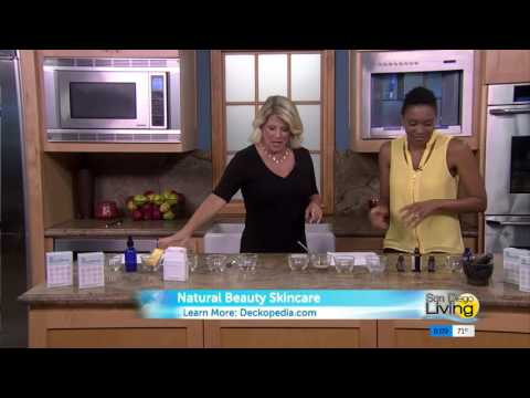 Katrina Schenfield - Natural Beauty Skincare Deck on CW6 San Diego