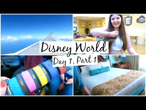 Disney World Vlogs 2016 | Day 1, Part 1 | Travel & Saratoga Springs Apartment Tour