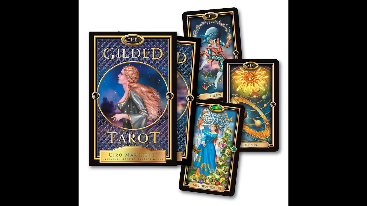 The Gilded Tarot Youtube
