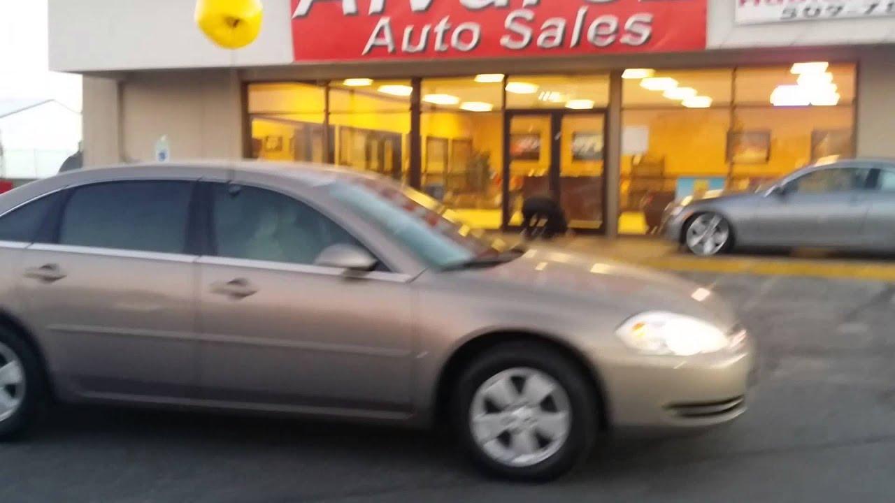 Alvarez Auto Sales >> Alvarez Auto Sales 06 Chevy Impala Stock 200495