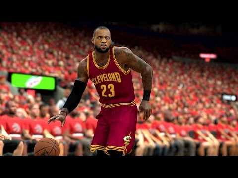 NBA 2K17 Cleveland Cavaliers vs Raptors Game 3 NBA Playoffs 2017 Game Play Xbox one S