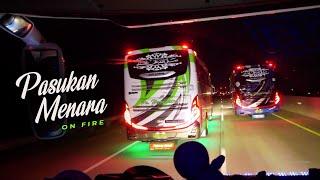 PASUKAN MENORO ON FIRE | Konvoy Seru 5 Armada Po HARYANTO - HR 017, 028, 066, 075, 161