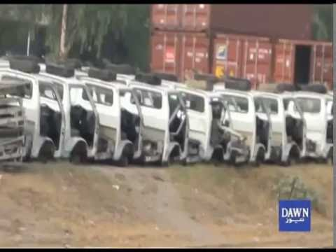 Vehicle Smuggling from Peshawar to Lahore
