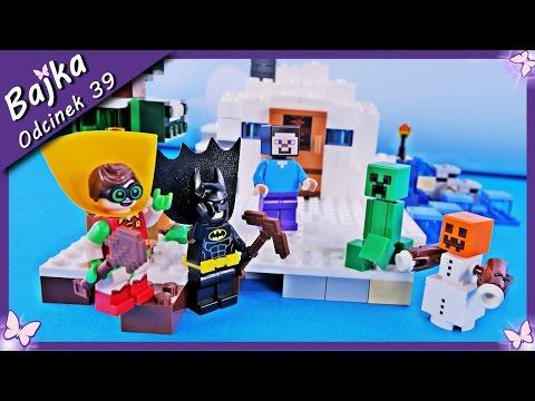 Batman i Robin w Minecraft - Bajka po polsku z klockami Lego Minecraft Batman odc.39