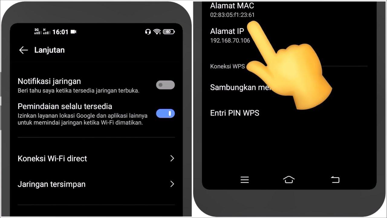 Cara Mengatasi MAC Address yang Selalu Berubah pada HP (Handphone) / Smartphone Android