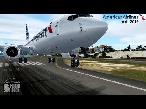 Prepar3D | Gone Before the Storm KMIA to TNCM | PMDG 737-800 NGX