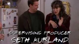 Friends: Chandler and Joey vs Janice (great scene)