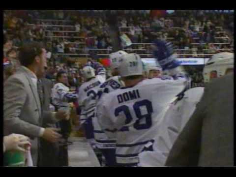 Wendel Clark Returns to Toronto - 1996