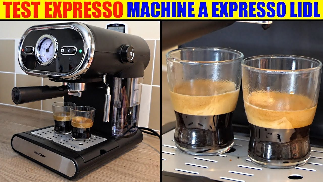 Machine A Expresso Silvercrest Lidl Sem 1100 Test Espresso Machine Espressomaschine