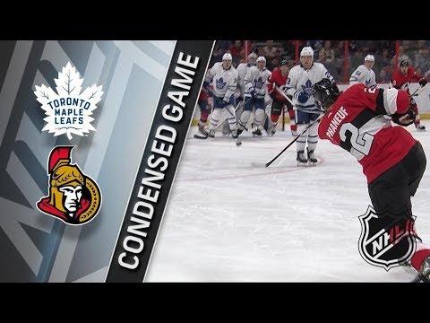 Toronto Maple Leafs vs Ottawa Senators January 20, 2018 HIGHLIGHTS HD