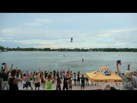 Flyboard Air Demo at Flyboard World Cup Championship​ in Naples, FL