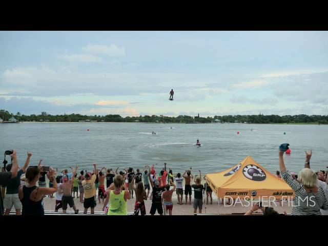 Flyboard Air Demo at Flyboard World Cup Championship? in Naples, FL