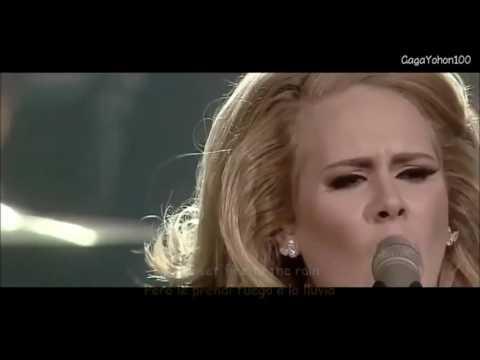 Adele Set Fire To The Rain Lyrics Sub Español Video Official
