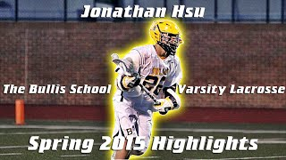 Recruiting LeeLights:  Jonathan Hsu, Class of 2018 Midfield