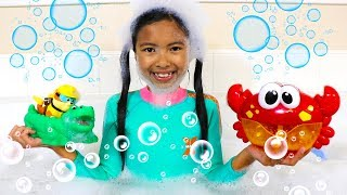 Bath Song | Wendy Pretend Play Nursery Rhymes Songs for Kids Toys and Colors