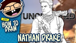 How to Draw NATHAN DRAKE (Uncharted) | Narrated Easy Step-by-Step Tutorial