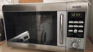 Como reparar mica de microondas