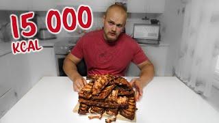 7.8 Kiloa Ribsejä (15 000 Kcal) l Miten Penkata 200kg?
