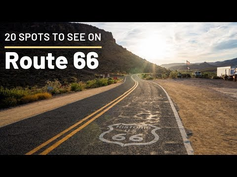 Route 66: 20 Great Stops on the Road Trip