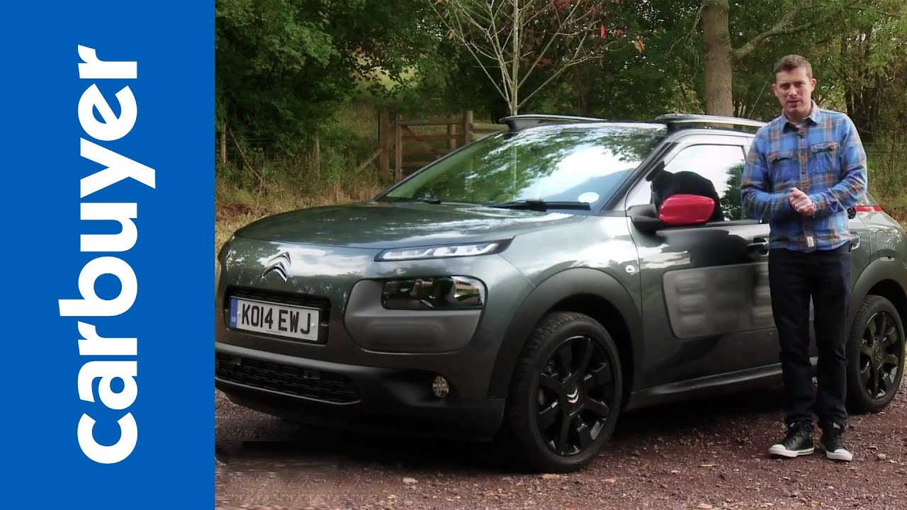 citroen c4 cactus suv carbuyer youtube. Black Bedroom Furniture Sets. Home Design Ideas