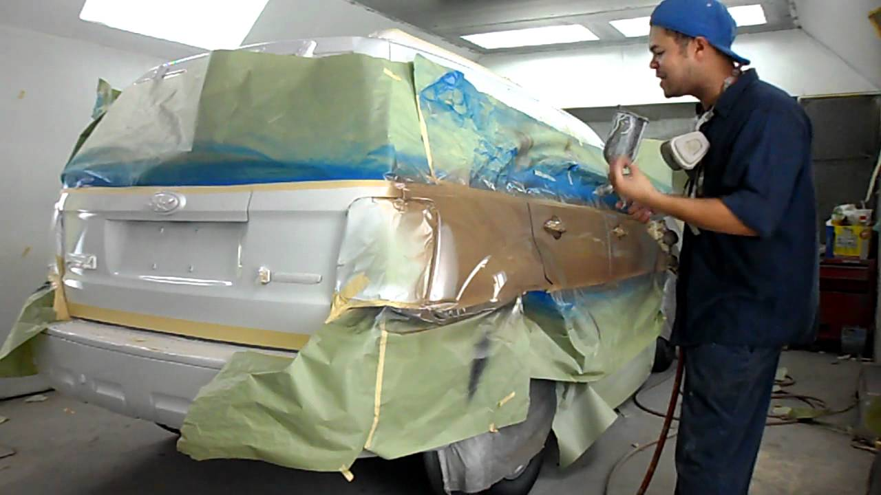 Pintura Para Carro Pintura De Carro Usa - Youtube