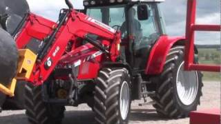 MF 5400 Mid HP Tractor with loader walkaround