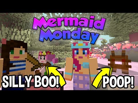 SILLY BOO AND POOP! | Mermaid Monday S2 Ep 25 | Amy Lee33