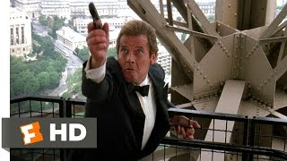 A View to a Kill (2/10) Movie CLIP - Paris Chase (1985) HD