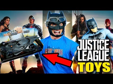 Unboxing New JUSTICE LEAGUE Batman Toys!