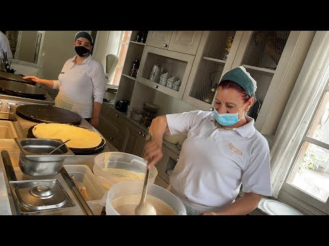 LIVE: Famous Crêpes at La Crêperie, Since 1968: Savory & Sweet with a View