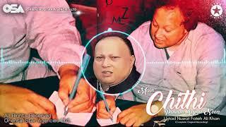 Main Chithi Pawan Sajna Noon | Nusrat Fateh Ali Khan | complete full version | OSA Worldwide