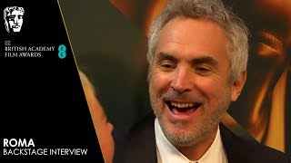 Alfonso Cuarón & Roma Cast and Crew React to Winning 4 Awards for Roma | EE BAFTA Film Awards 2019