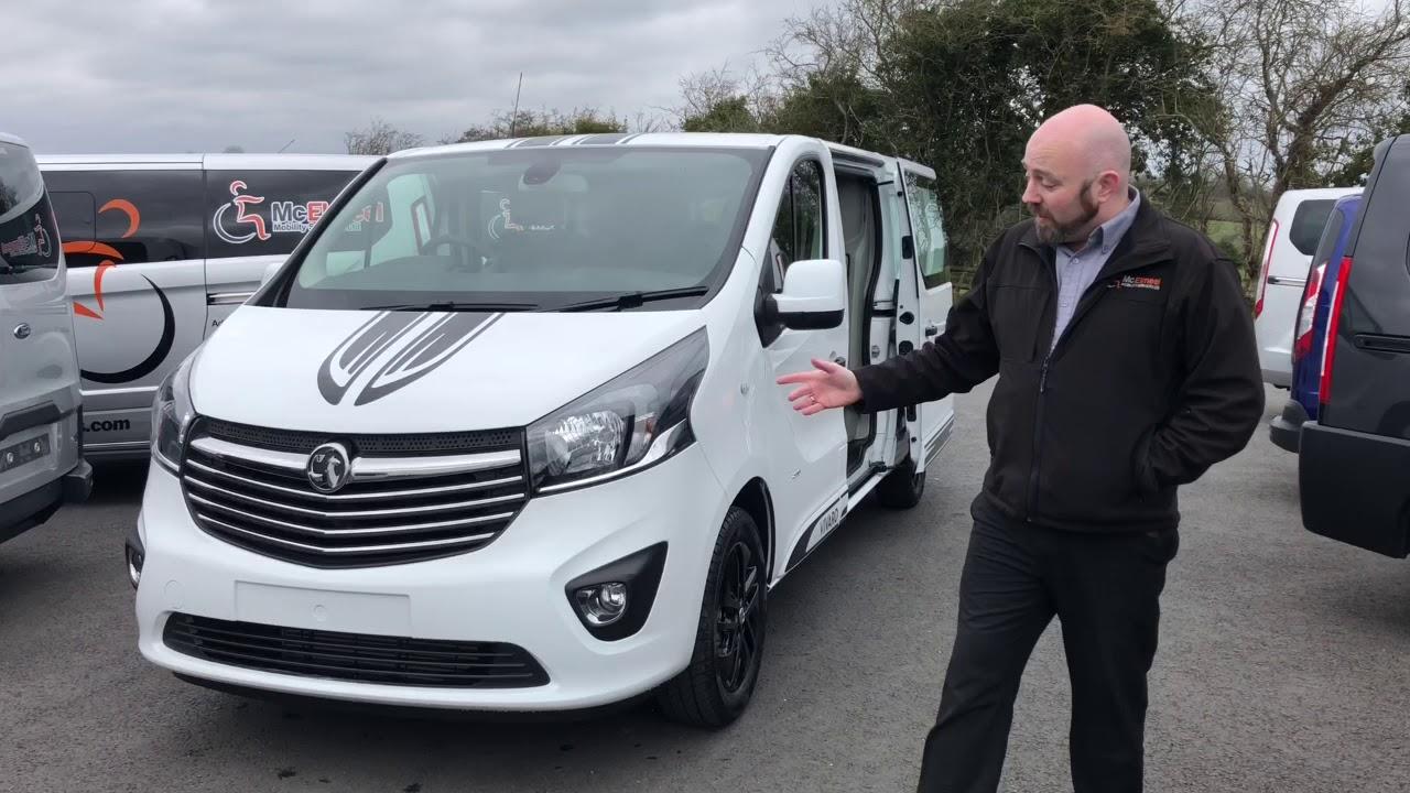 cfab5d20d4 2018 Vauxhall Vivaro Crew Cab - YouTube