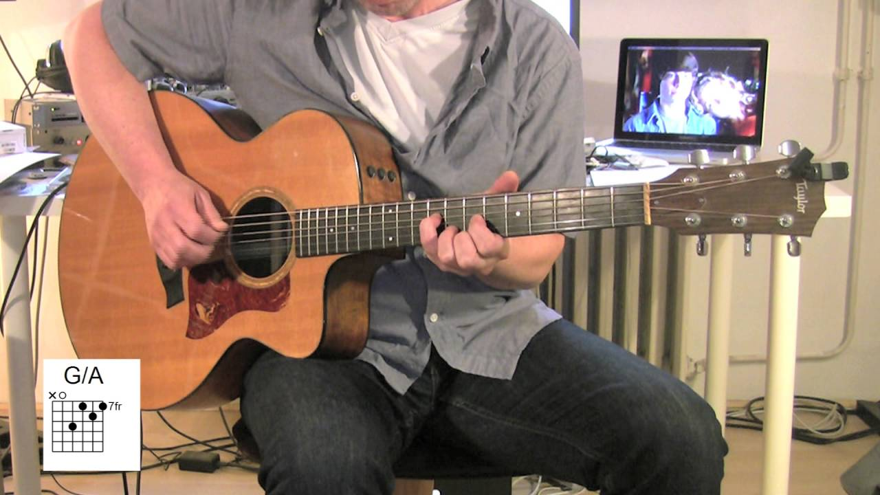 Tiny dancer acoustic guitar tutorial chords elton john youtube hexwebz Gallery