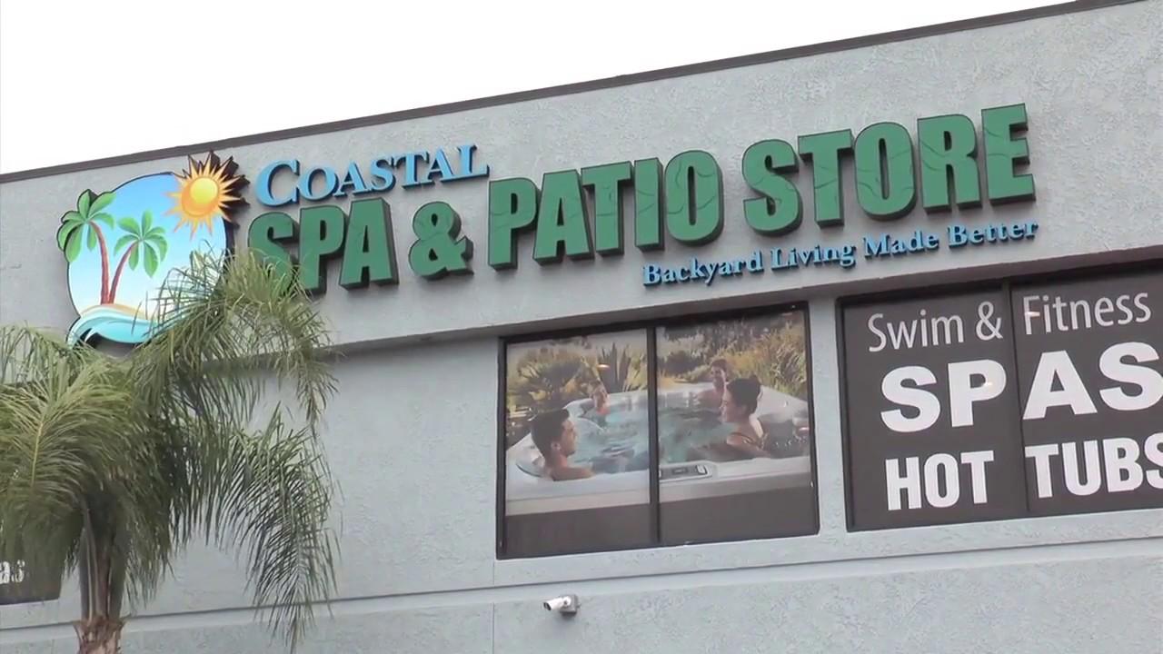 coastal spa patio is an authorized