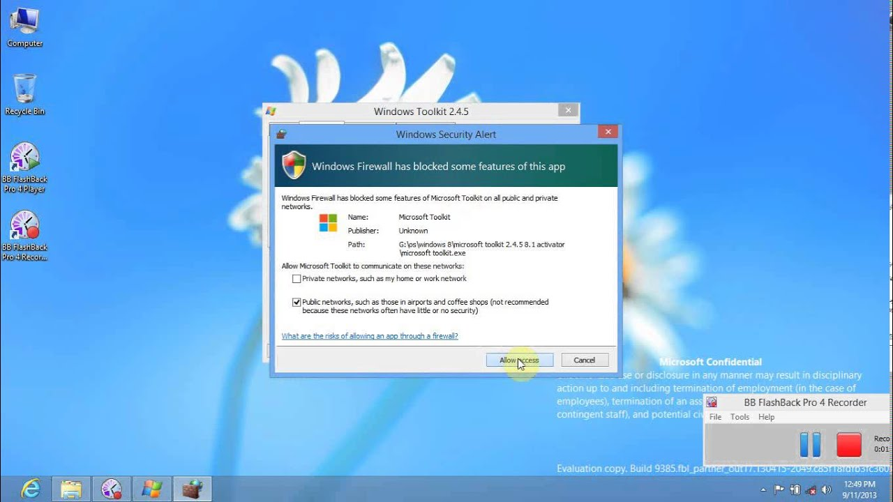 How To Active Windows 8 1 With Microsoft Toolkit