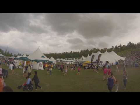 bad weather at edmonton folk fest