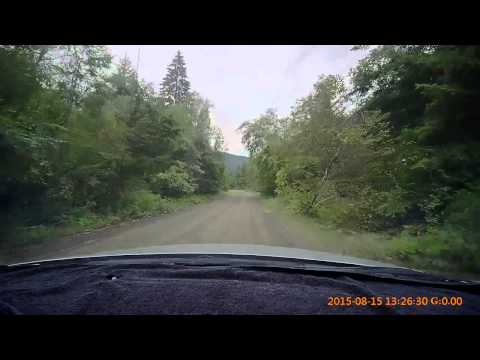 Scenic Back Roads in BC.,  Canada -- Ewart Creek Mountain Road in HD