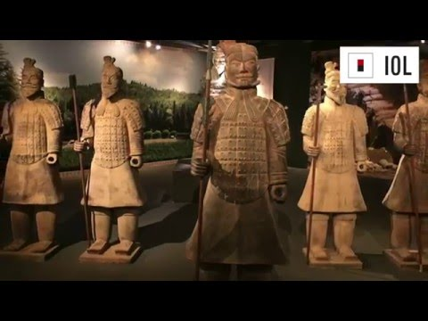 The Terracotta Army and the First Emperor of China in South Africa