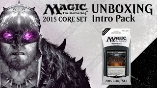 Unboxing: M15 Infernal Intervention With Brad Nelson [magic: The Gathering]