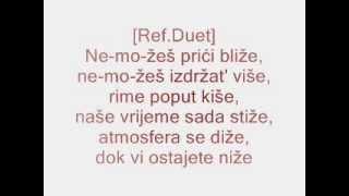 Edo Maajka ft. Frenkie - Ne-mo-žeš + TEKST