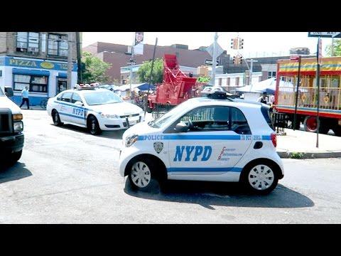 Tiny Nypd Cop Car